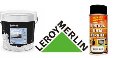 Pinturas térmicas Leroy Merlin